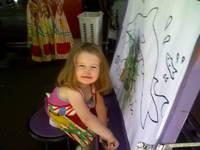 Sadia_painting_at_the_market